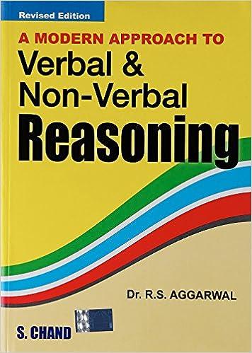 Verbal & Non-Verbal Reasoning - R S AGRAWAL