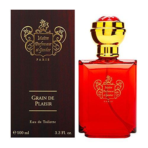 Gantier by Maitre Parfumeur Et Gantier For Men. Grain De Plaisir Eau De Toilette Spray 3.3-Ounces (Gantier Eau De Toilette Spray)