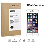 [2PACK, LIFETIME WARRANTY] XOXO Mobile® Premium Tempered Glass Screen Protector for Apple iPhone 6+ / 5.5