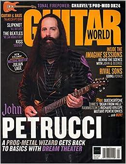 Guitar World Magazine April 2019 | John Petrucci: Various: Amazon
