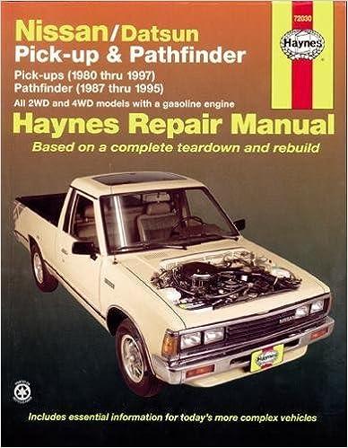 Nissan datsun pickup 8097 pathfinder 8795 haynes repair nissan datsun pickup 8097 pathfinder 8795 haynes repair manuals 1st edition fandeluxe Choice Image
