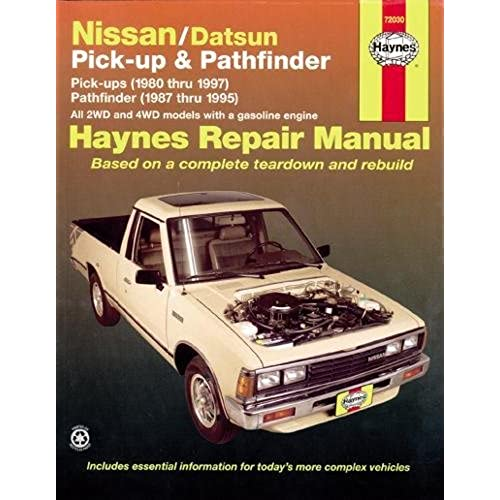 repair manual for nissan amazon com rh amazon com 1995 nissan pickup repair manual download 1995 nissan hardbody service manual