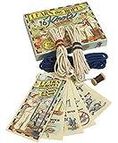 Die kleine Escuela de nodo, Antiguo Nautica Juego, lerne Su Nudo marinero
