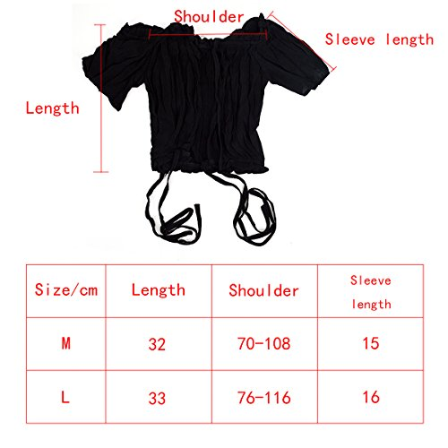Camiseta Corta Cuello Tops Mujer Barco Negro Corta Manga Chic Aisi Verano wEXqzOOx