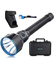Olight® Javelot Turbo 1300 Lumen LED Tactical Flashlight, Rechargeable Powerful NW LED Flashlight, Max. 1300 Meters Throw for Hunting, Search and Rescue Outdoors