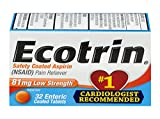 Ecotrin Low Strength Safety Coated Aspirin, 81 mg, 32 Count