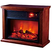 Optimus H-8261 Fireplace Infrared Heater with Remote, LED Display