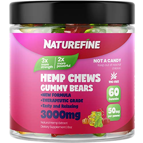 Hemp-Gummies-Zero-THC-CBD-Oil-Cannabidiol-2100-MG-35-MG-per-Gummie-Hemp-Oil-for-Pain-Relief-Relieves-Stress-Anxiety-Overall-Health-Grown-Made-in-The-USA