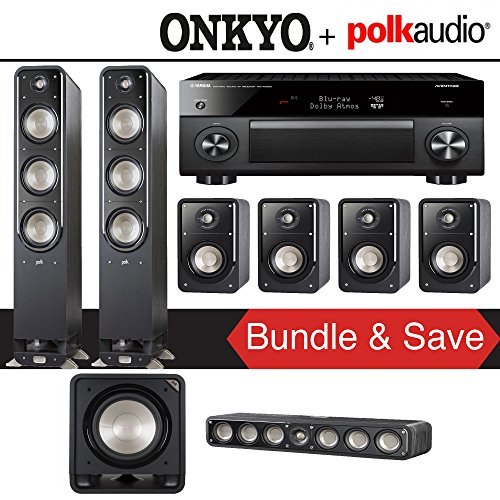 Polk Audio Signature S60 7.1-Ch Home Theater Speaker System