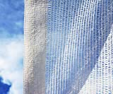 SHANS Shade Cloth Fabric White 50% Sunshine Ultraviolet Blocking Rate Free Clips Plastic Grommets (10ft x 100ft)