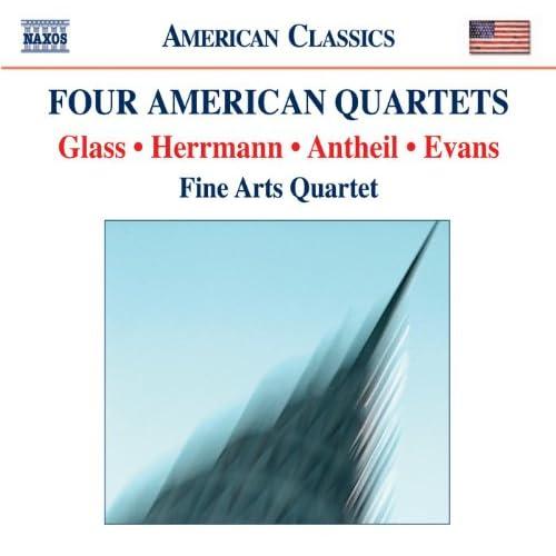 Evans, R.: String Quartet No. 1 / Glass, P.: String Quartet No. 2 / Antheil, G.: String Quartet No. 3 / Herrmann, B.: Echoes