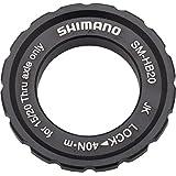 Shimano HB20 15/20mm Axle Hub Centerlock Disc Rotor Lockring