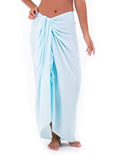 446d883a6dd7d SHU-SHI Womens Beach Cover Up Sarong Swimsuit Cover-Up Many Solids Colors to