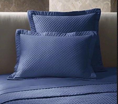 Ralph Lauren Home Wyatt Royal azul de pavo real acolchado estándar ...