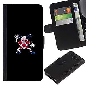 """A-type (Mal Pekemon"""") Colorida Impresión Funda Cuero Monedero Caja Bolsa Cubierta Caja Piel Card Slots Para Samsung Galaxy S3 III i9300 i747"""