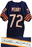 William Perry Signed Navy Chicago Bears Throwback Jersey- Schwartz COA