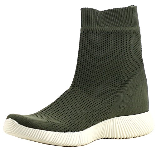 Cape Breathable Stretch Womens Sock Boot Olive Sole Robbin Textured RnWr4xqFRa