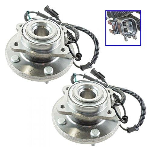 Wheel Bearing & Hub Assembly Rear Pair for 08-11 Chrysler Dodge Volkswagen