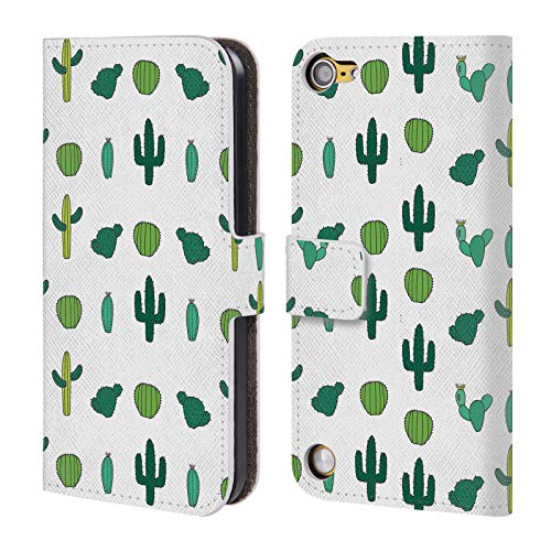 Official The Native State Cactus Plants Leather Book Wallet Case Cover Compatible for iPod Touch 5G 5th Gen