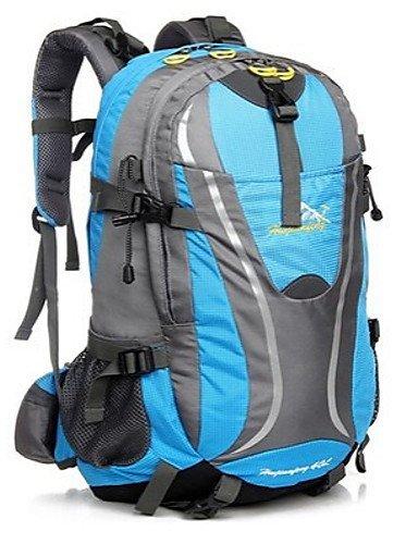 GXS Professional Outdoor Sport Reiten Camping wasserabweisend Multifunktions Schultern Bergsteigen Taschen 40L schwarz - schwarz A1vnjhV