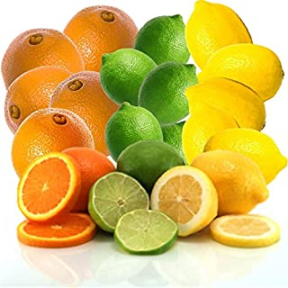 product image for Fresh Sunshine Citrus Trio Oranges, Limes, and Lemons From Organic Mountain (18 Fruit, 6 of Each)