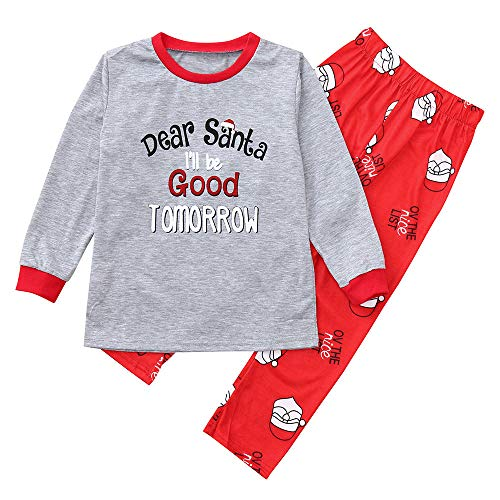 2PCS Christmas Pajamas Set Duseedik Children Daddy Mom