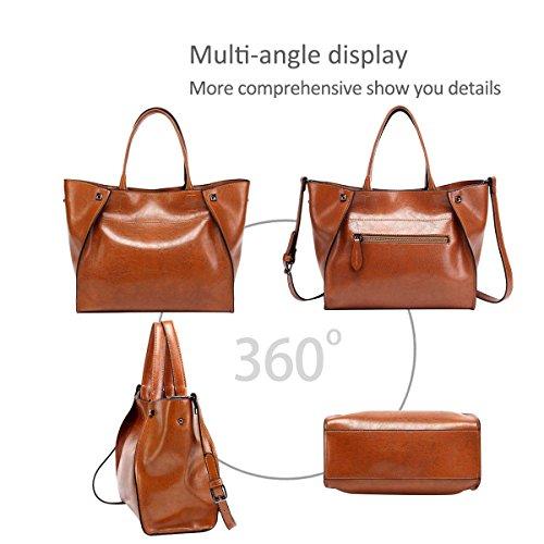 Ladies' Handle Tote Handbags for match NICOLE amp;DORIS Bags Navy Satchel Women New Purse Red Hobo Shoulder All BqEBXwnWU