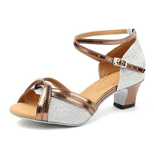 Minitoo - salón mujer Silver-5cm Heel