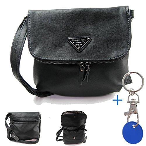 #1113 Tasche schick Umhaengetasche Damenhandtasche