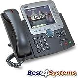 Cisco 7970G IP Téléphone (Reconditionné Certifié)