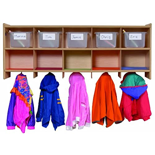 Home Daycare Design Ideas: Preschool Cubbies: Amazon.com