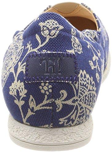Think! Damen Shua_282038 Espadrilles Blau (Blau/Kombi 94)