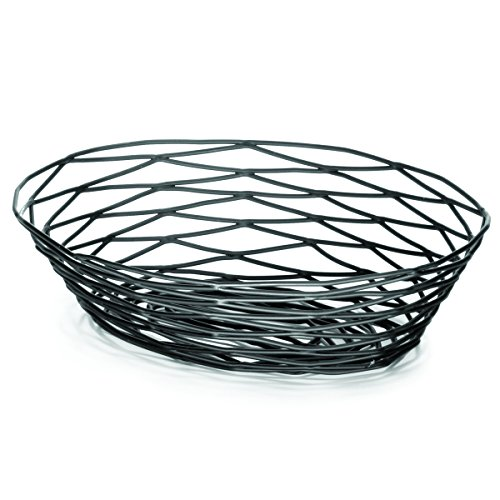 (TableCraft Products BK17409 Basket, Oval, 9