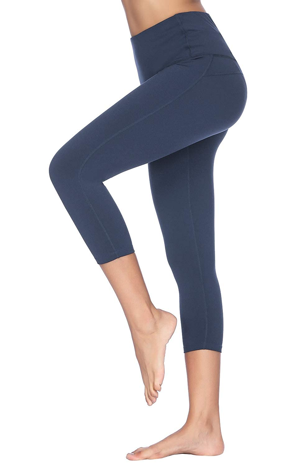 2e6ad396ddb Amazon.com  X-Fit Sports Women High Waisted Yoga Pants - Running Workout  Legging with Hidden Pocket