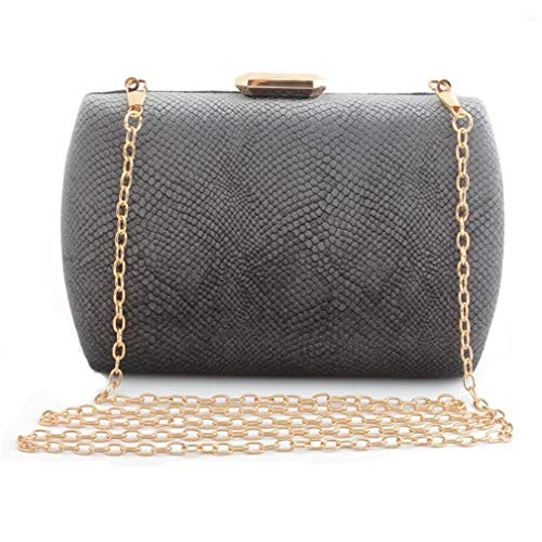 Bag Handbag Women Full And Mini Grey Bags Evening 6 Dress Color Clutch Clutch Evening Day Purse Totes Designer 6RwY1qP