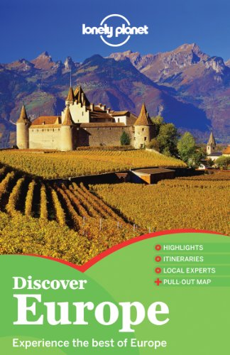 Lonely Planet Discover Europe (Full Color Multi Country Travel Guide)