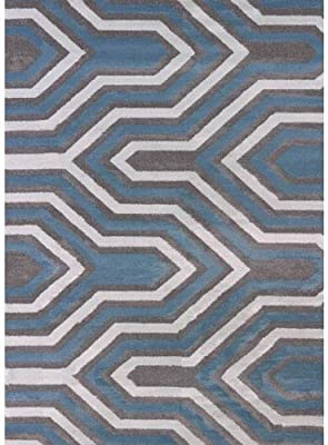 United Weavers of America Cupola Area Rug in Charcoal (7 ft. 2 in. L x 5 ft. 3 in. W)