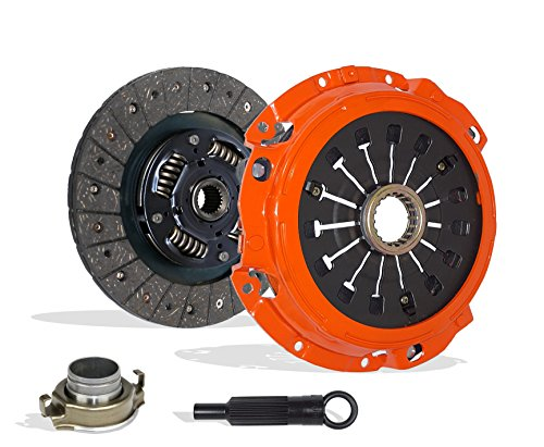 Mitsubishi Gts Eclipse (Clutch Kit Set Works With Mitsubishi Eclipse Gt Spyder GTS Convertible Hatchback 2000-2005 3.0L V6 GAS SOHC Naturally Aspirated (6G72 5 Speed Manual Mitsubishi F5M51-1; Stage 1))