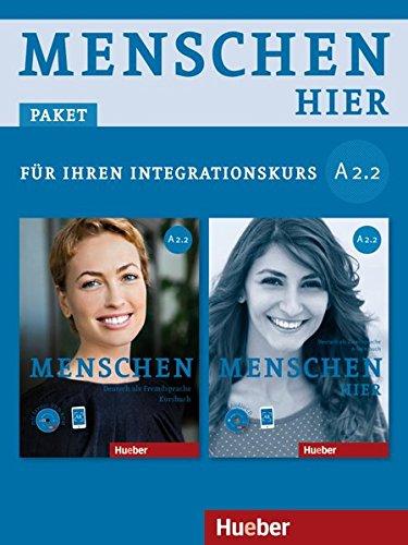 Menschen hier - Paket für Ihren Integrationskurs: Menschen hier A2/2: Deutsch als Zweitsprache / Paket: Kursbuch