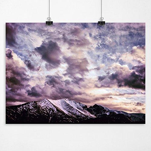 Great Basin Utah (Sensibility - Sunset Wheeler Peak Great Basin National Park Utah Fine Art Landscape Photography Print)