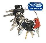 21 Keys Heavy Equipment / Construction Ignition Key Set