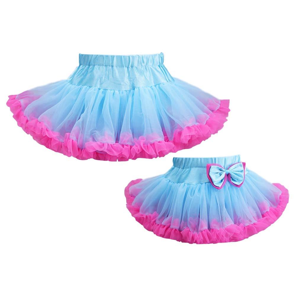 DoGeek T/üllrock M/ädchen T/üllr/öcke Kinder for Baby Tutu Ballet Rocke /überlagerte R/üsche Ballettr/öckchen