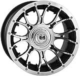 Douglas Wheel Tire 991-16 Diablo Wheel - 12x7 - 2+5 Offset - 4/110 - Machined , Bolt Pattern: 4/110, Rim Offset: 2+5, Wheel Rim Size: 12x7, Color: Machined, Position: Rear