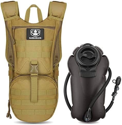 Barbarians Tactical Hydration Pack Water Backpack