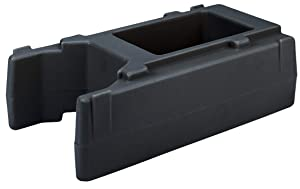 Cambro R500LCD110 Camtainer Riser for 2.5 or 5 Gallon Black Case of 1