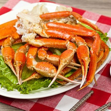 Live Wild Caught Snow Crab Clusters (4 lbs.) Express Shipped Frozen by Ready Seafood