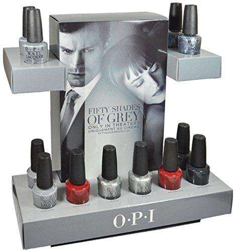 OPI Nail Polish 50 Cinquante Shades of Grey 6pc F74-F79