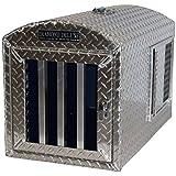Diamond Deluxe~Aluminum Single Hole Dog Box, Dog Crate, Dog Carrier, Dog House