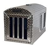 Diamond Delauxe~Aluminum Single Hole Dog Box, Dog Crate, Dog Carrier, Dog House – Large Review