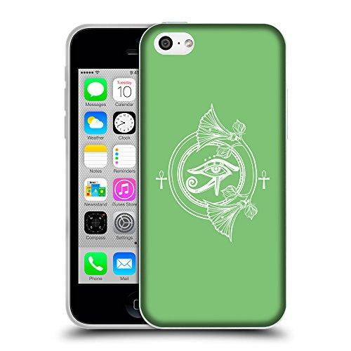 GoGoMobile Coque de Protection TPU Silicone Case pour // Q09920629 Religion 32 Pastel Vert // Apple iPhone 5C